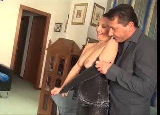 Quick and hot penetration of a slutty blonde
