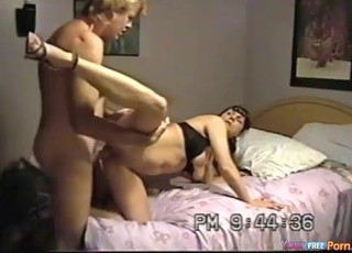 Sensual busty chick fucked in the bedroom